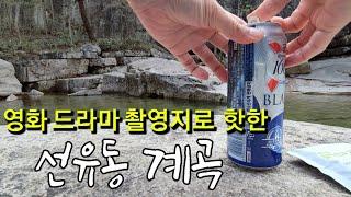 선유동 계곡/신선이 따로 없구나~시원하게 맥주한캔/당일…