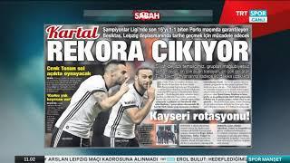 Beşiktaş Manşetleri - 06.12.2017 - Spor Manşet