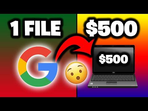 Get Paid $500 PER DAY From GOOGLE DOCS [Make Money Online Tutorial] - Ryan Hildreth