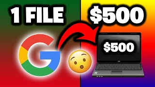 Get Paid $500 PER DAY From GOOGLE DOCS [Make Money Online Tutorial] - Ryan Hildreth