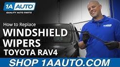How to Replace Wiper Blade 2006-2012 Toyota Rav4