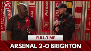 Arsenal 2-0 Brighton | It's The Worst Season Ever, I'm Going To Butlins! (DT)