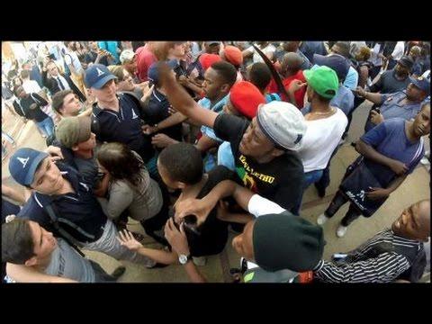 University of Pretoria (Tuks) uprising 18 Feb 2016