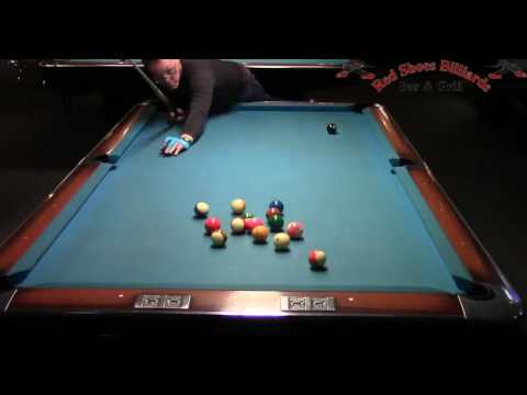 Ron Shepard Dennis Walsh Straight Pool Match to 125