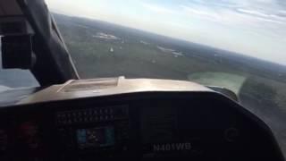 BN-2 Islander Landing At Westerly Airport