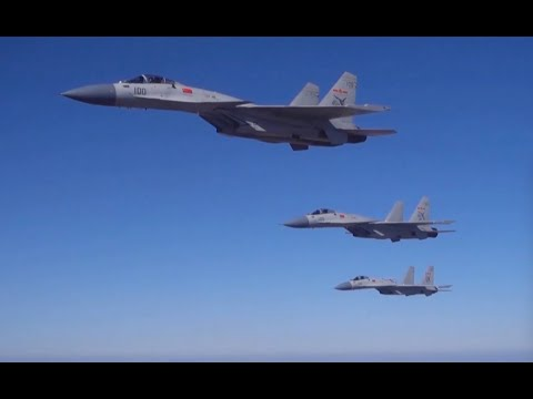 Exclusive footage of China&39;s J-15 fighter jets