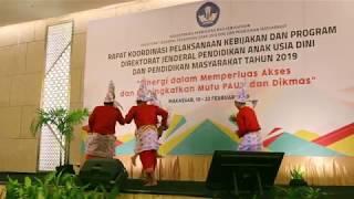 Tari Gandrang Bulo BP-Paud Dan Dikmas 2019