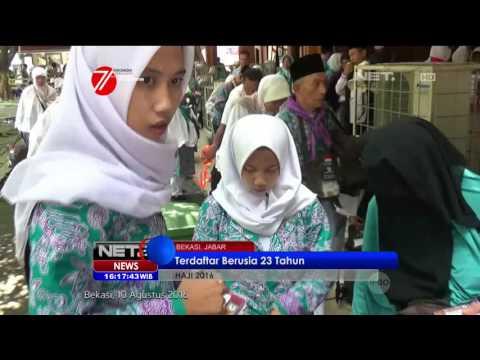 Calon Jemaah Haji Termuda Berusia 16 Tahun Asal Bogor - NET16
