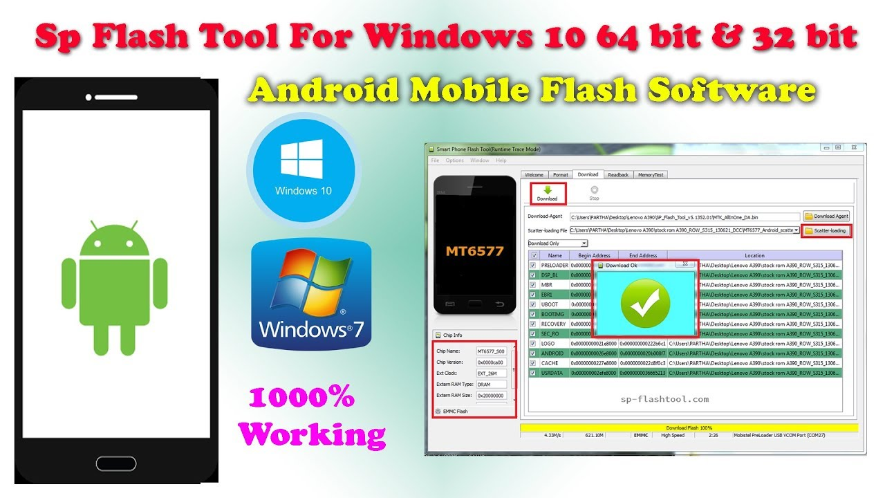 Download SP Flash Tool - The Ultimate Guide For Windows 10 ...