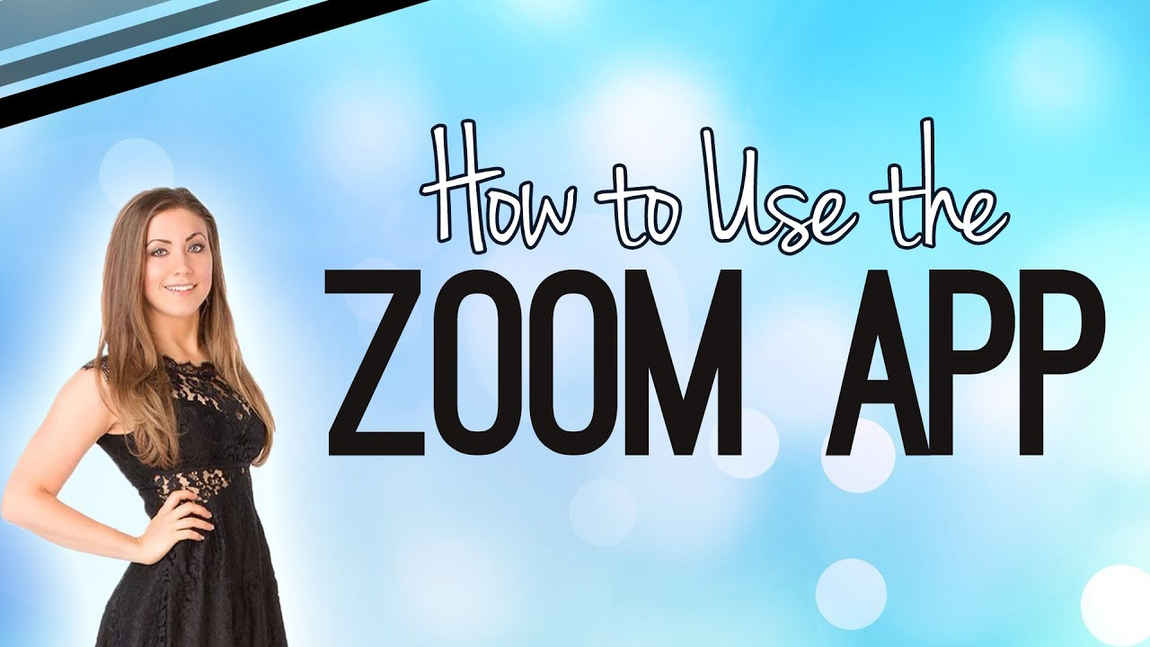 How To Use The Zoom App From Iphone Youtube
