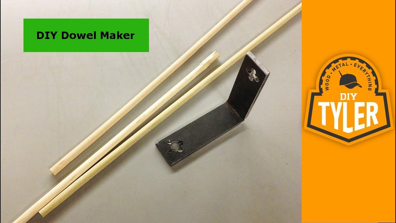 Make A Dowel Maker 010 Youtube