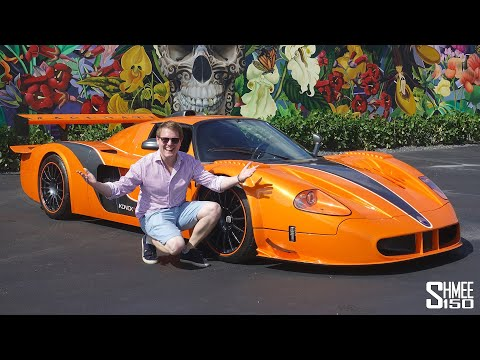 This is the Most Extreme Maserati EVER! MC12 Corsa by Edo Competition