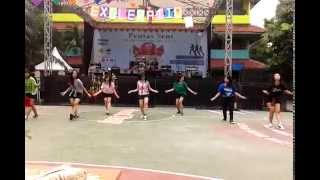 [EKD] Kpop Dancer SMAN 40 Jakarta - Fire & Like This Dance Cover || Pensi 2014