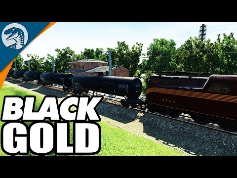 GIGANTIC OIL SHIPMENT LINE | Transport Fever American Campaign Gameplay Ep 2.