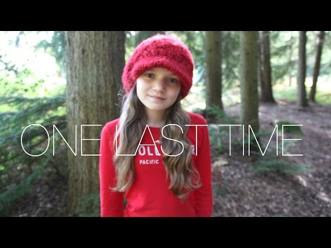 Ariana Grande - One Last Time - cover by 11 year old Sapphire