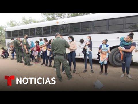 Migrantes siguen cruzando aunque el Gobierno endureció su discurso sobre inmigración | Telemundo