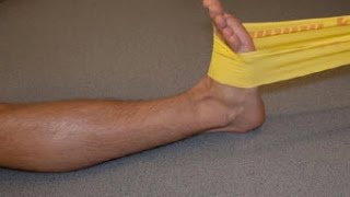Как быстро восстановить голеностоп после травмы(Сегодня мы приступим к простым упражнениям для восстановления голеностопа после перелома и разрыва связок..., 2016-01-22T09:02:03.000Z)