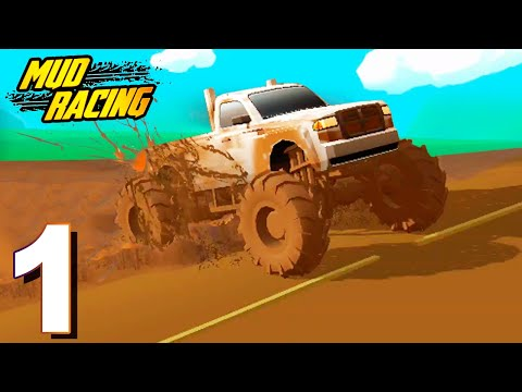 Mud Racing - Gameplay Walkthrough (Android) 1 - 13 Levels (Part 1)