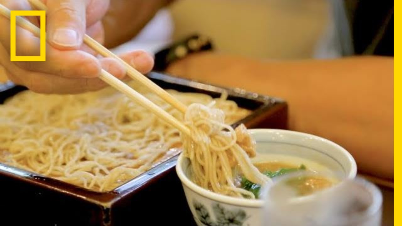 The Art of Soba Noodle Making in Japan | National Geographic