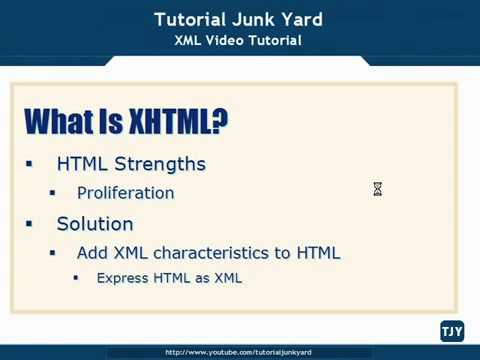 XML Tutorial   67 Introduction To XHTML