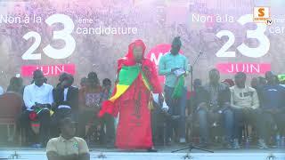 23 Juin: Mame Diarra yén opposition bi solène bollé wou Macky Sall