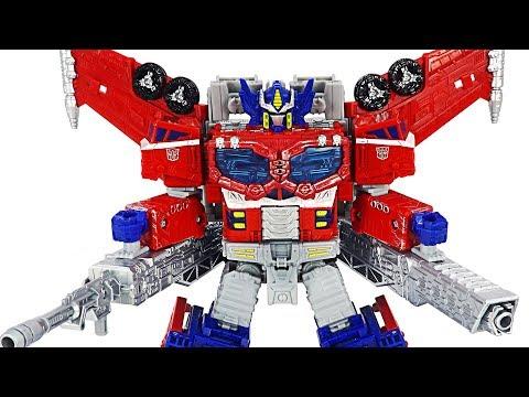 Transformers War for Cybertron: Siege! Galaxy Upgrade Optimus Prime! | DuDuPopTOY