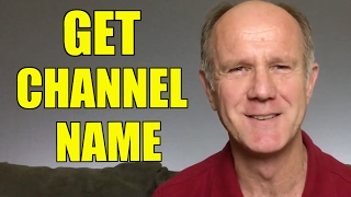 How To Come Up With A YouTube Channel Name