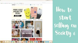 How To Start Selling on Society 6 Passive Income For Designers