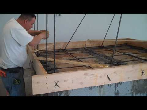 OBO Pizza Custom brick oven construction part 1
