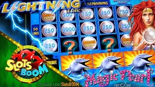 Magic Pearl Bonuses & Lightning Link Feature !!! Aristocrat Video Slot