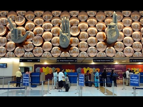New Delhi Airport Arrivals | Indira Gandhi International Airport T3 | Immigration check