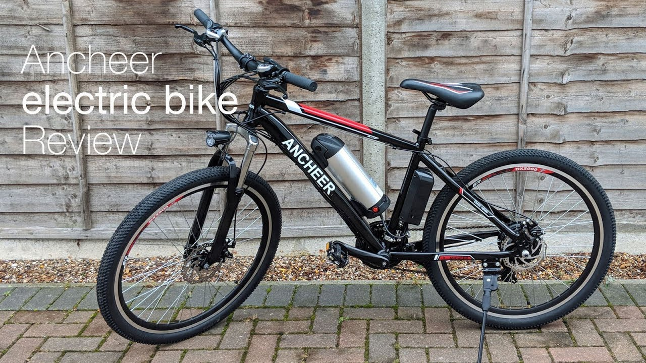 Ancheer Electric Mountain Bike Review Youtube