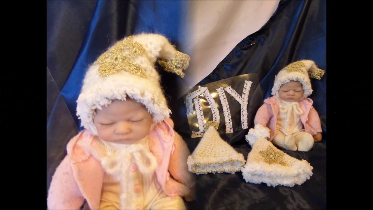 Diy Häkeln Lernen Baby Mützchen Puppen Mütze Kinder Mütze