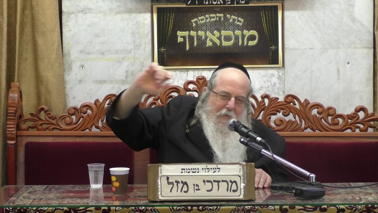 הרב יעקב שכטר תשובה והתעוררות+הרב דוד אדרי לקחים מפרשת השבוע עקב