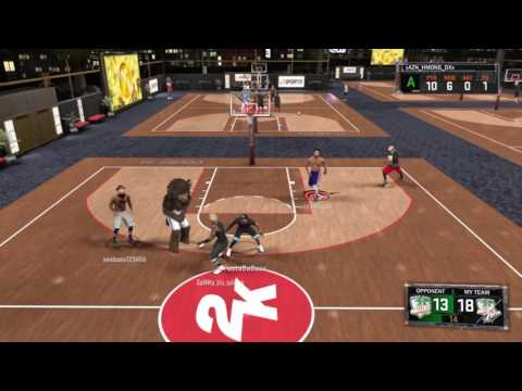 NBA 2K17 PS4: Cleaning The Glass At Ante Up
