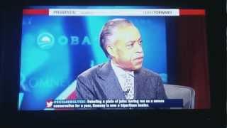 Romney Vs Obama Debate - MSNBC's Priceless Reaction