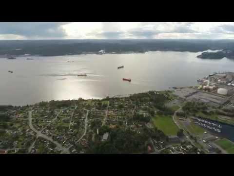 Drone   Norway   Porsgrunn   Skien   Valøya - Vikna