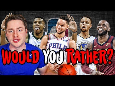 ABSURDLY HARD NBA WOULD YOU RATHER QUIZ!