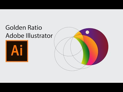 Golden Ratio Logo designs in Adobe Illustrator tutorial thumbnail