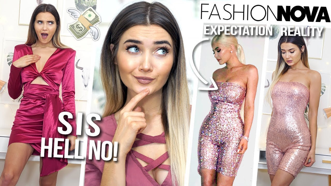 ef22d7cb592 TRYING ON KYLIE JENNER S OUTFITS FROM FASHION NOVA... WAS IT WORTH IT!