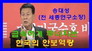 한국안보역량과 우리의 자세 (송대성 -한미안보연구회 이사)