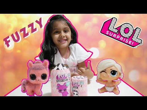LOL Surprise FUZZY PETS and Lils Makeover Series 5 UNBOXING