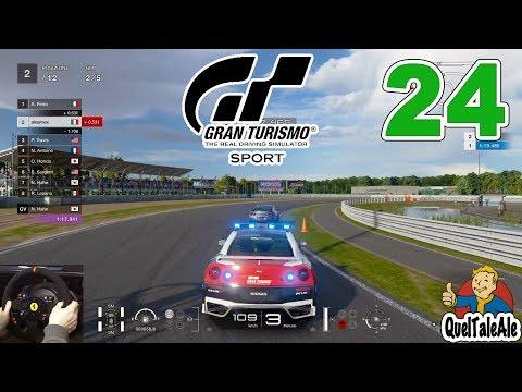 SAFETY CAR SPORTIVEGGIANTI - GRAN TURISMO SPORT - Gameplay ITA - [TS T300] - #24  [CARRIERA]