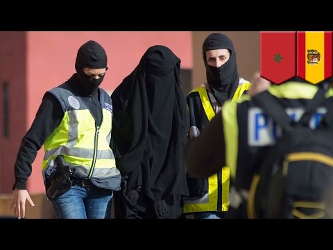 Islamic State bride recruitment ring busted by Spain and Morocco