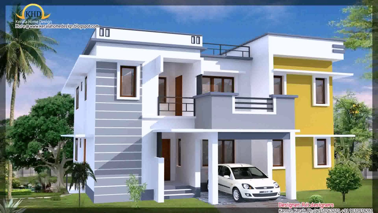 Modern House Plan 3000 Sq Ft - YouTube