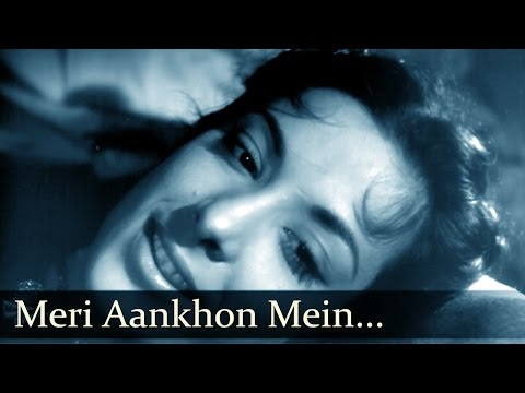 Meri Aankhon Mein Bas Gaya - Nargis - Raj Kapoor - Barsaat - Lata Mangeshkar Hit Songs