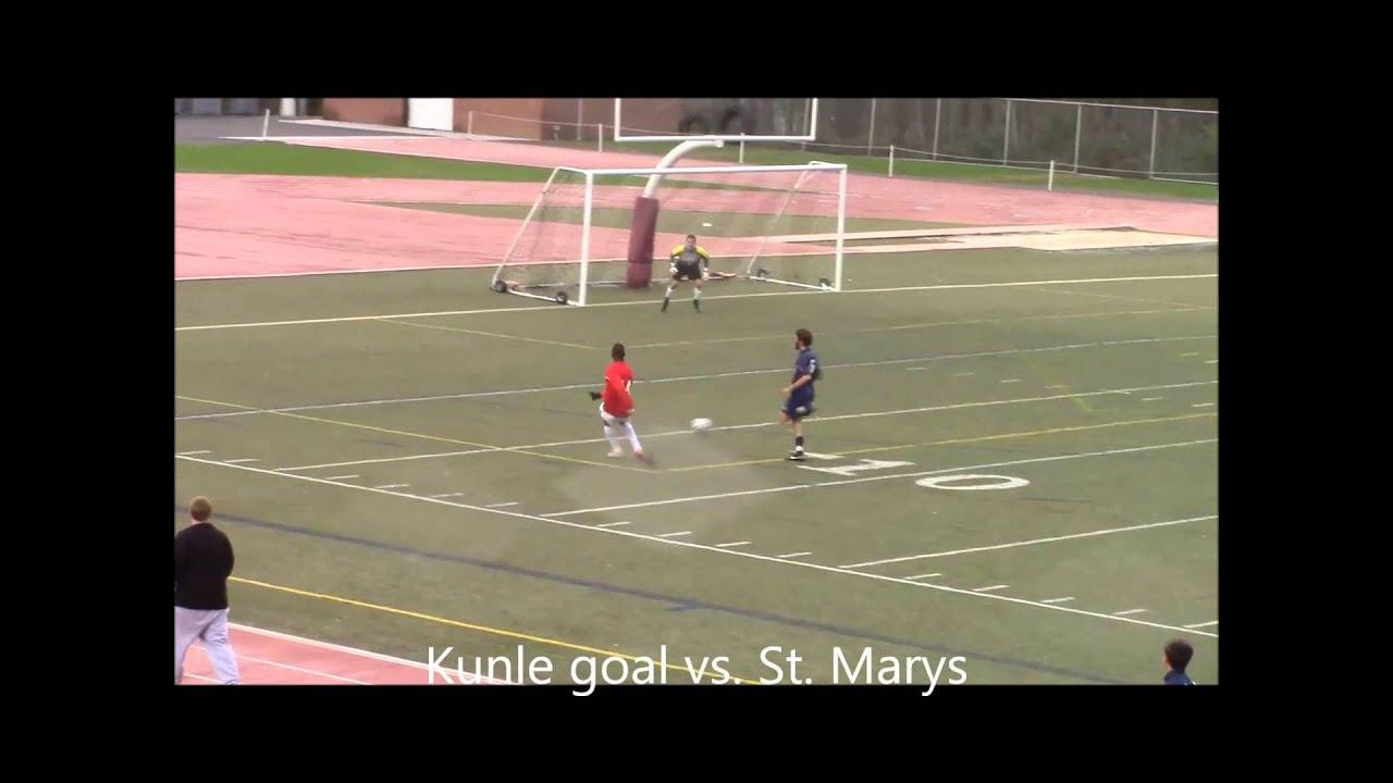 Kunle goal vs St Marys - YouTube