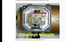 Moteur asynchrone Partie 4_Couplage triangle/étoile (الدارجة المغربية)