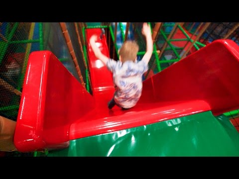 Busfabriken Indoor Playground Fun for Family and Kids (part 1 of 2)