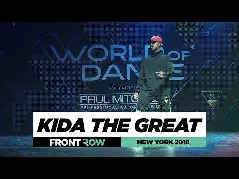 Kida the Great  FrontRow  World of Dance New York 2018  WODNY18